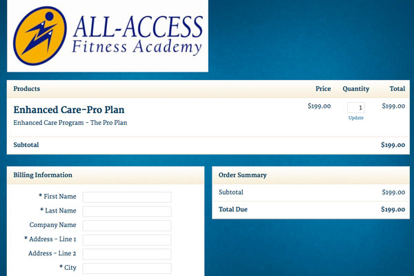 all-access-fitness-infusionsoft