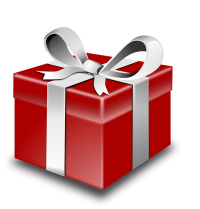 What are you giving your clients, patients, or customers this December?