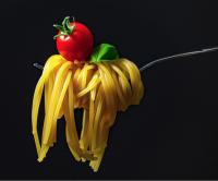No throwing spaghetti!